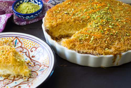 Kanafe: A Middle Eastern dessert with cheese and shredded phyllo | by FerraroKitchen1