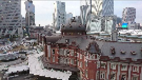 mosaic Xperia X Performance Creative Effect