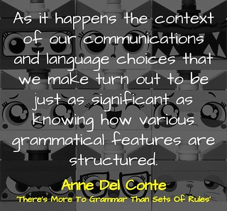 There's More To Grammar Than Sets Of Rules by @annadelconte | by mrkrndvs