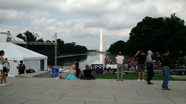Washington Monument, seen from the Lincoln Memorial Reflecting Pool