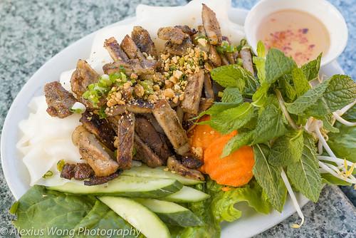 Banh Dap Thit Nuong - Grilled Pork