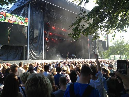 utanför postorderfru mager i Göteborg