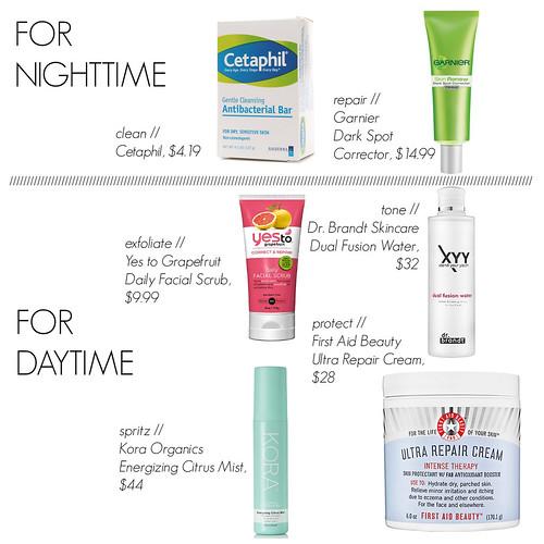 Skin Care Routine Misstraberryfiel