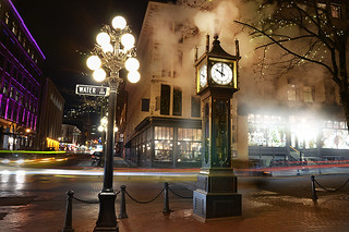 Gastown Steam Clock, Downtown Vancouver, British Columbia, Canada | by BCVacation