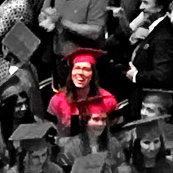 Natalie graduates