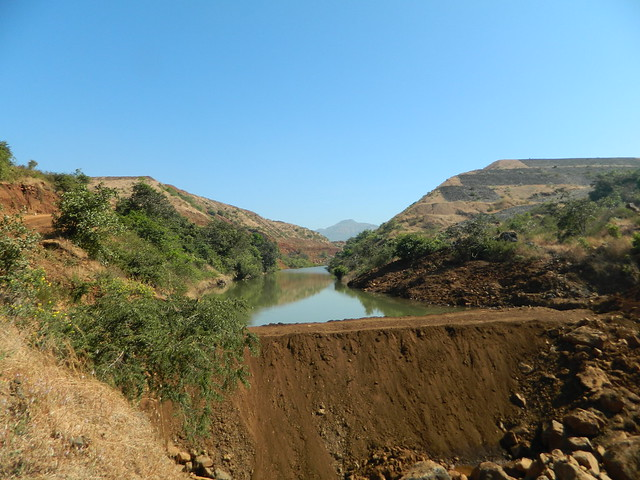 Kubhe Dam Canal