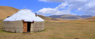 We stopped at this yurt for lunch | by stupiddream