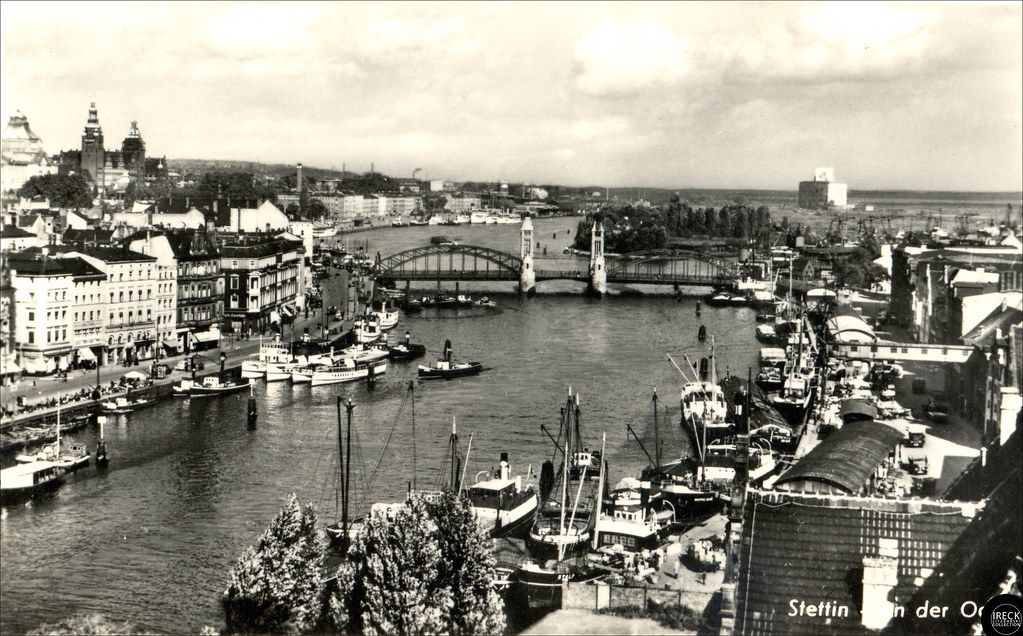 Photographs and Postcards of Stettin - up to 1945