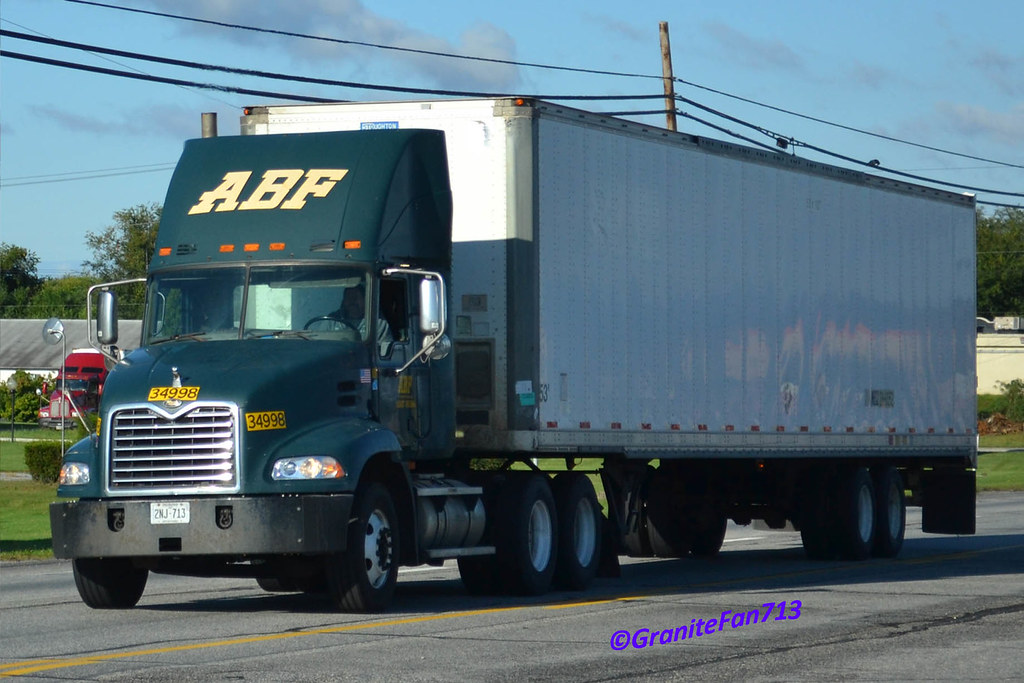 ... ABF Freight Mack Vision | by Trucks, Buses, & Trains by granitefan713