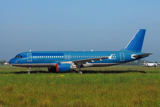 N587MS A320-232 GECAS
