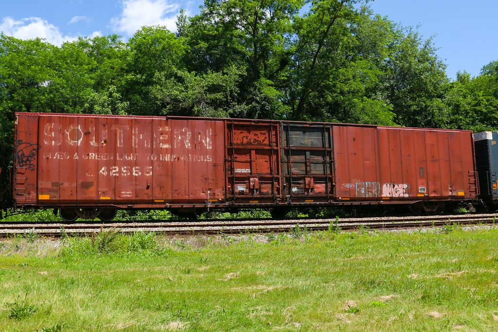 Southern 86 Auto Parts Boxcar Irvington Ky 6 7 2016 Flickr