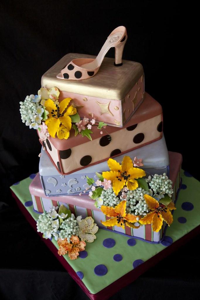 High Heels Birthday Cake The Cake Zone Florida The Cake Zone Flickr