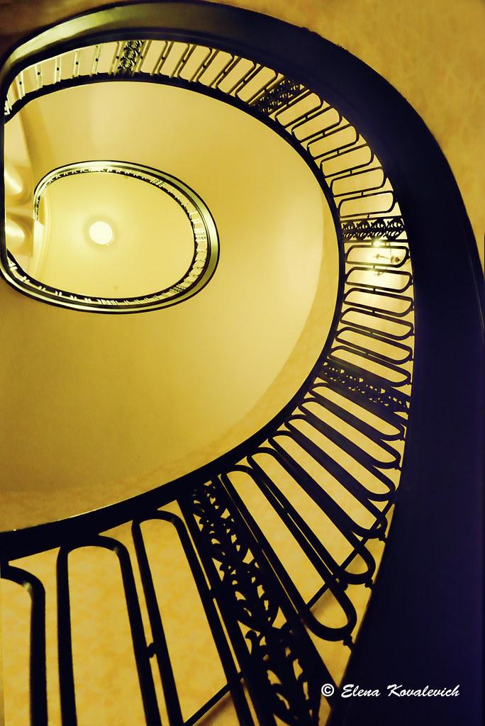 ... Spiral Staircase | By ElenaK@Chicago