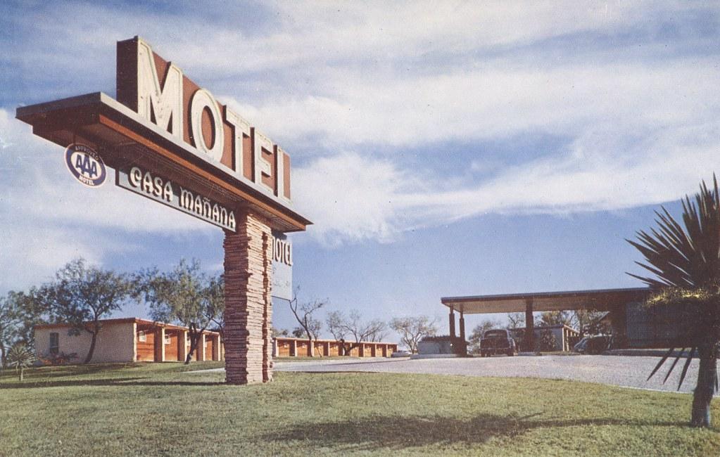 Casa Mañana Motel - San Antonio, Texas