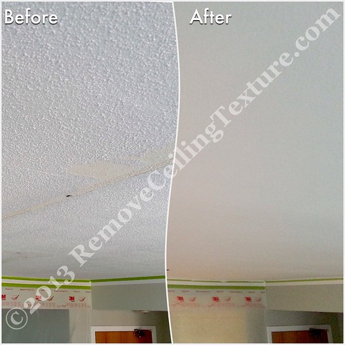 Concrete Ceiling Texture Removal - 1010 Burnaby St - Entrance | by R.C.T.