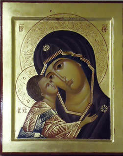 2013 Icône de la Mère de Dieu Igorevskaïa - The Mother of God Igorevskaia Icon (main de - hand : Dina Phares) | by Périchorèse-iconographie
