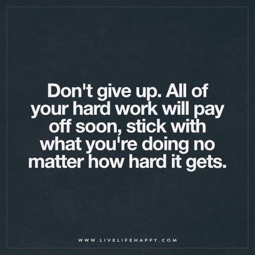 ... Dont Give Up Quote | By Deeplifequotes