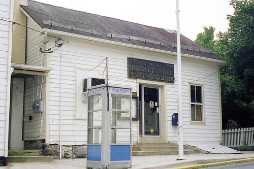 Burkittsville, MD post office | by PMCC Post Office Photos