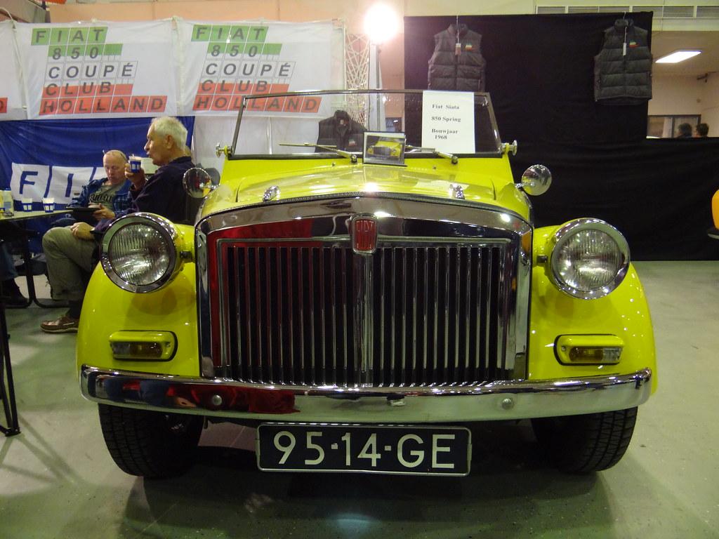 95 14 GE 1968 Siata 850 Spring