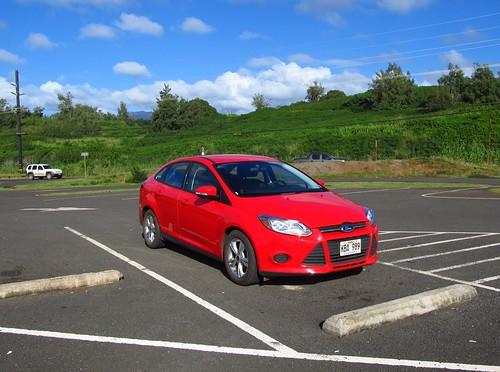 Lihue Car Rental Return