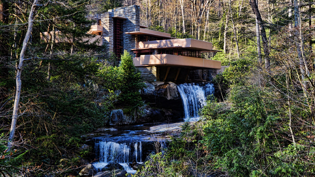 Fallingwater House Frank Lloyd Wright Architect