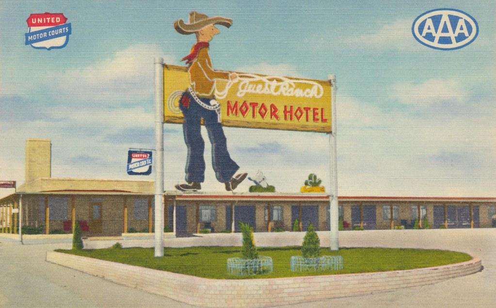 Guest Ranch Motor Hotel - Cheyenne, Wyoming