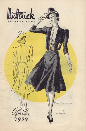 April 1939 Butterick Fashion News | by vintagestitches