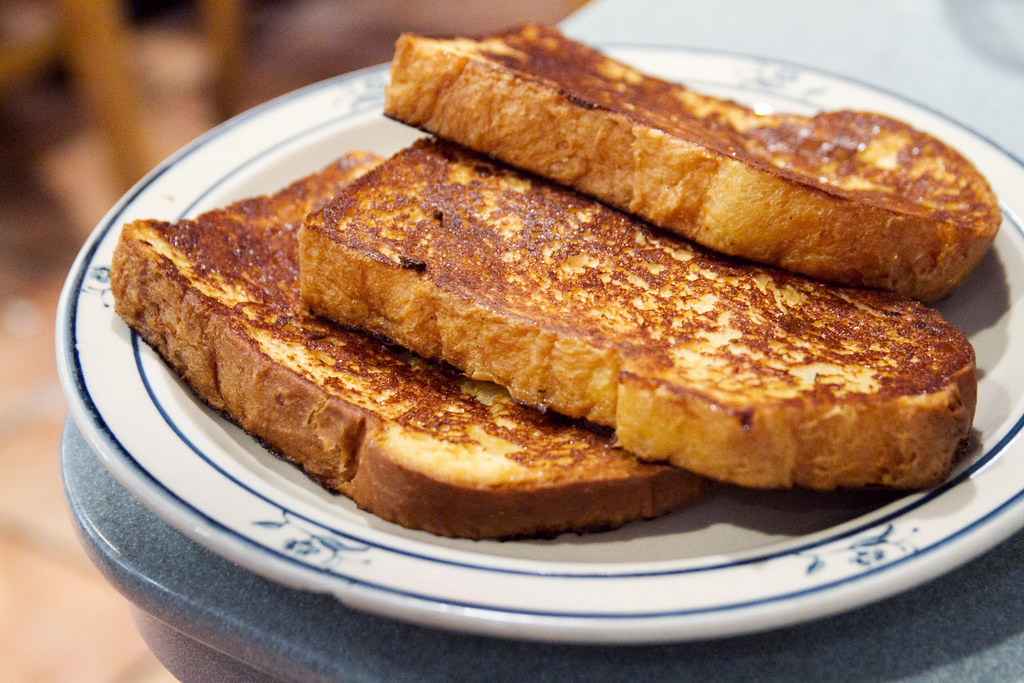 Homemade Challah French Toast Odessa Man This Is Good Stu Flickr