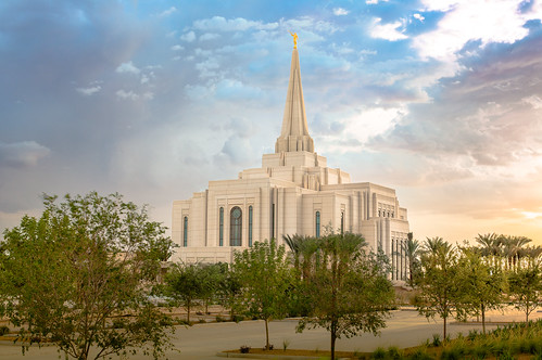 Gilbert Arizona Temple | by jerryfergusonphotography