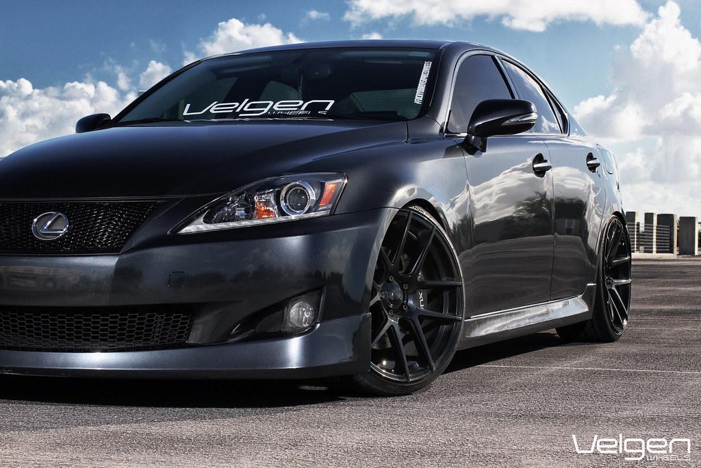 Lexus Is250 On Velgen Vmb5 Gloss Black 20x9 20x105 Flickr