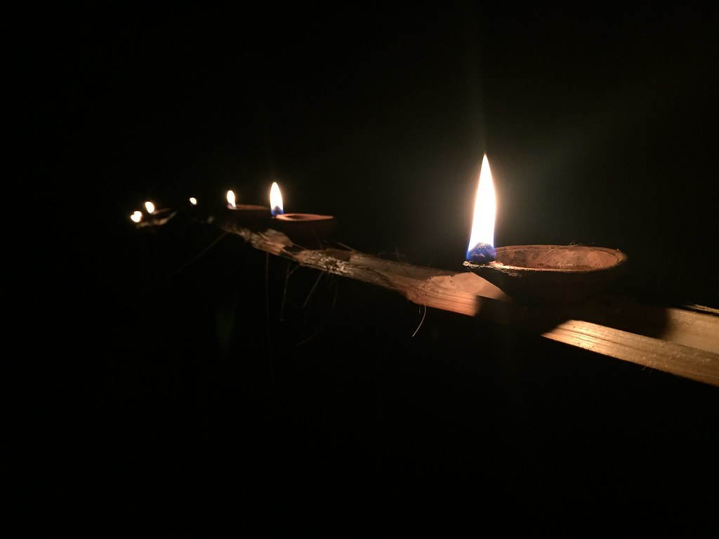 iphone captures oil lamps for vesak by dakdad with oil lamp wallpaper