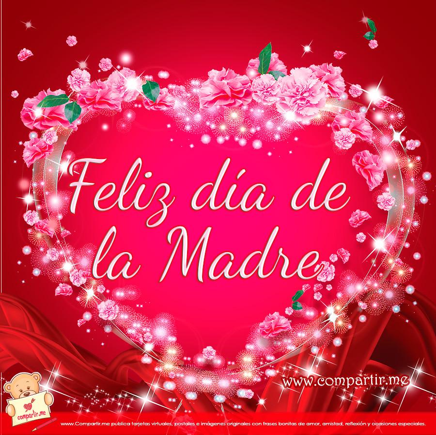 Frases De Amor Postal Gratis Feliz Dia De La Madre Flickr