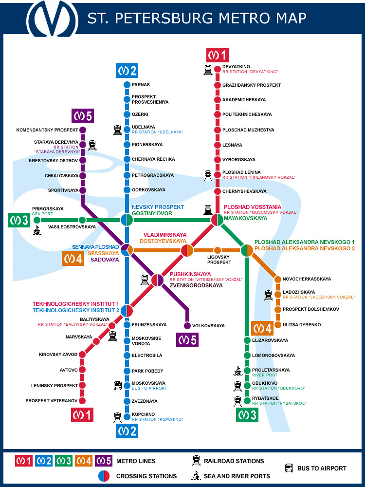 Saint Petersburg Metro Map From So Nata Canada X World Ta Flickr