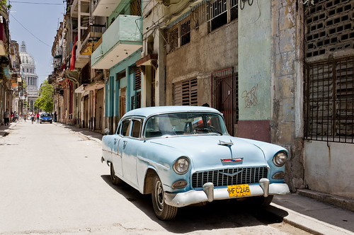 A 1955 Chevy in Old Havana | by vxla