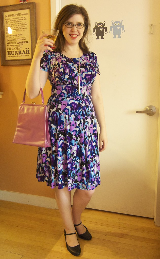 Memademay 2 Cake Patterns Red Velvet Knit Dress My New N Flickr