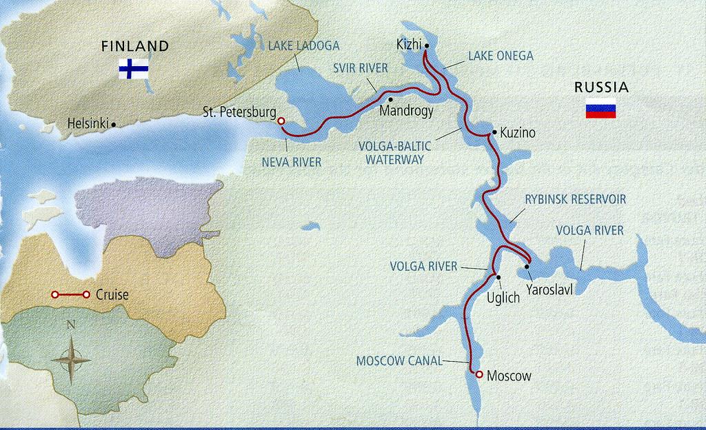 Rybinsk Reservoir Volga River Russia Rybinsk Reservoir Flickr - Volga river on world map
