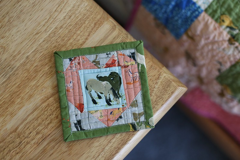 mini quilting projects are way too fussy!