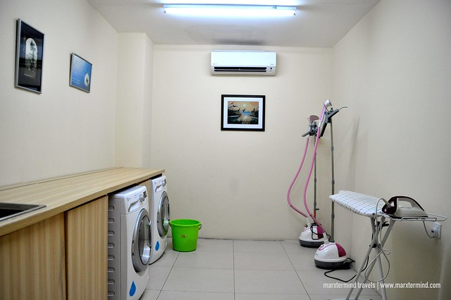 City Comfort Hotel Self Service Laundry and Dry Cleaning Section