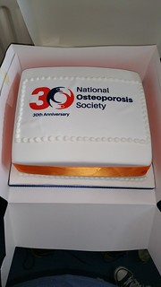 National Osteoporosis Society anniversary cake. | by platypus1974