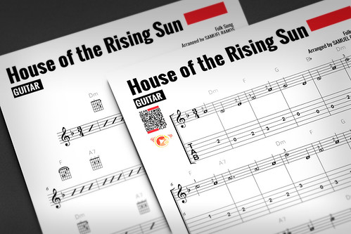 play house of the rising sun on guitar