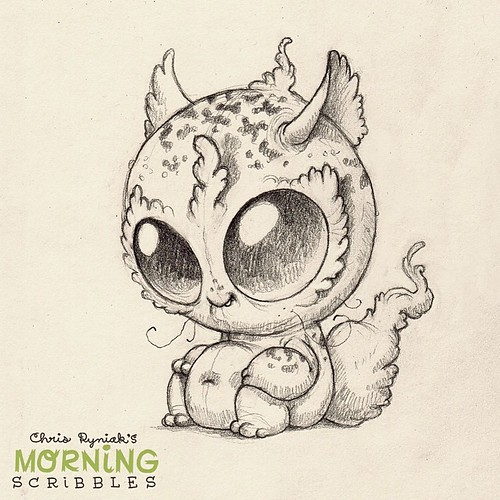 Character Drawings Portraits And Monsters: Morning Scribbles Returns! #morningscribbles
