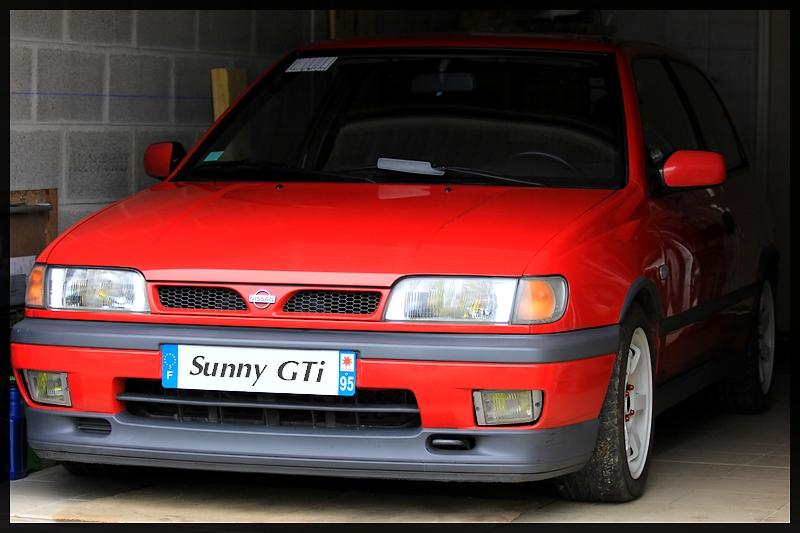 Nissan Sunny Gti N14 Sticker Gaetan Flickr