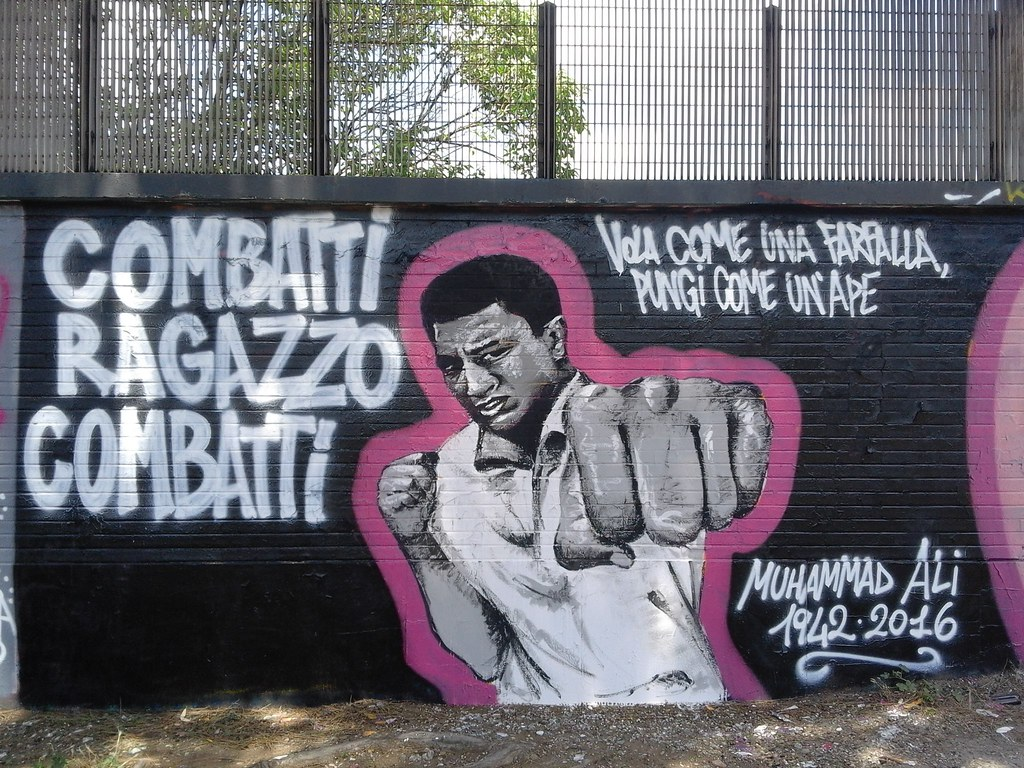 Graffiti in rome by nicholas frisardi