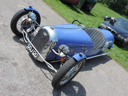 Morgan Three Wheeler Club Paddock Shots