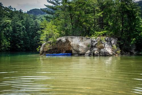 Lake Jocassee Kayaking-116