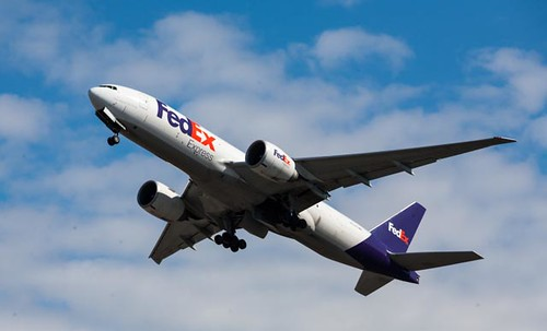 FedEx 777 leaving ANC | by Alaskan Dude