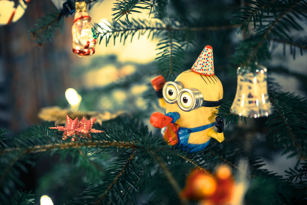 Christmas Tree Minion | my sister got a Minion as Christmas … | Flickr