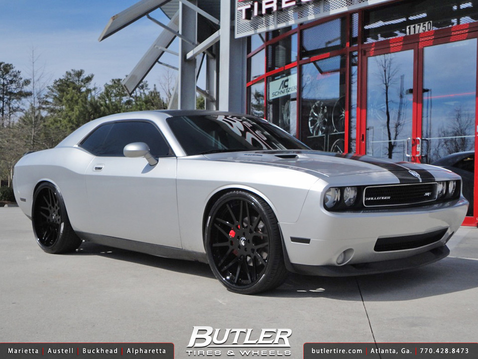 Dodge Challenger Srt8 With 24in Forgiato Maglia Wheels Flickr