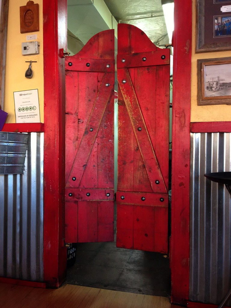 Saloon Doors | by desertdutchman Saloon Doors | by desertdutchman & Saloon Doors | At the Horseshoe Cafe in Wickenburg Arizona.u2026 | Flickr