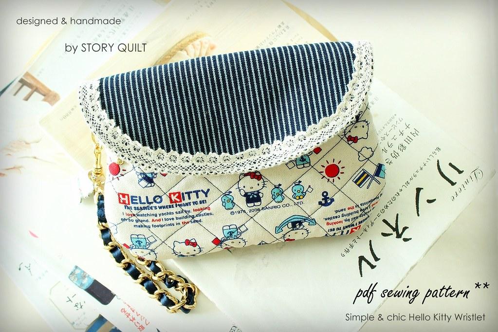 Story Quilt Diy Digital Pdf Sewing Pattern Bag Purse S Flickr